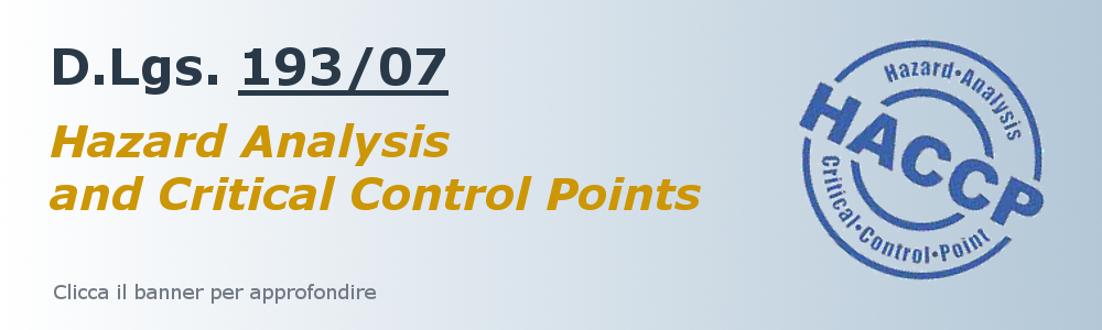HACCP (Hazard Analysis Critical Control Point)