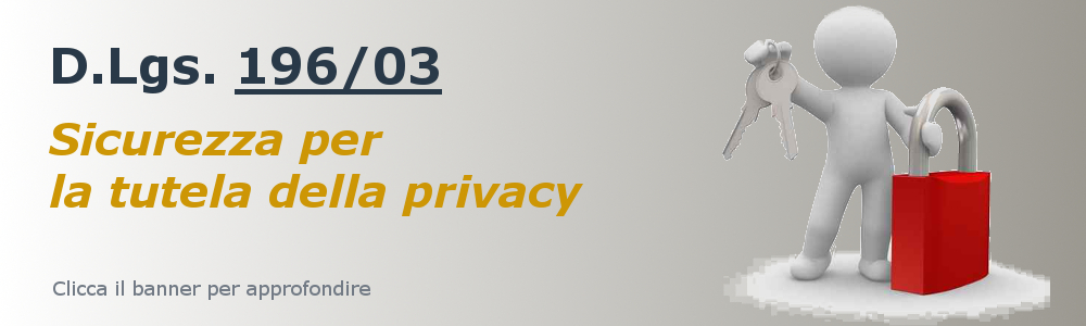 Privacy (D.Lgs. 196/03)
