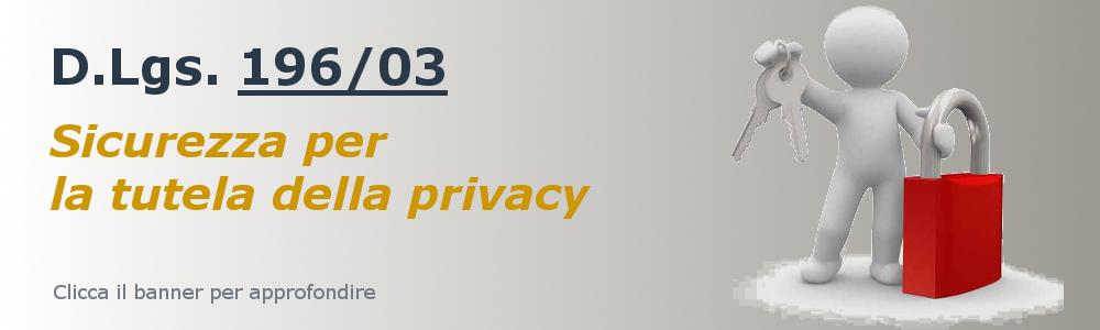 Privacy (D.Lgs. 196/03)